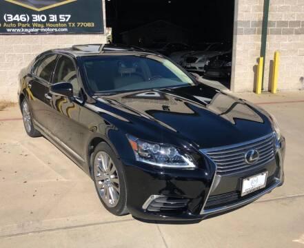 2014 Lexus LS 460 for sale at KAYALAR MOTORS in Houston TX