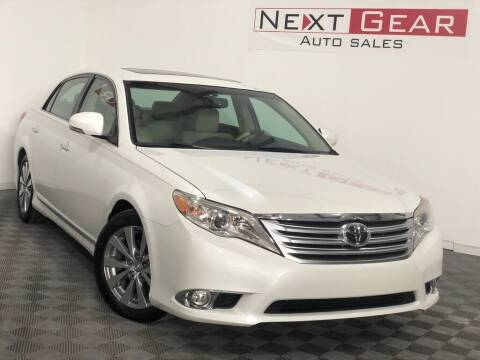 2011 Toyota Avalon for sale at Next Gear Auto Sales in Westfield IN