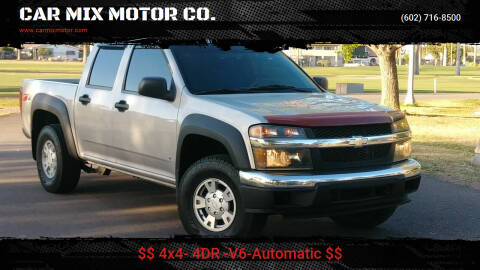 2012 Chevrolet Colorado for sale at CAR MIX MOTOR CO. in Phoenix AZ