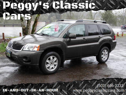 2011 Mitsubishi Endeavor for sale at Peggy's Classic Cars in Oregon City OR