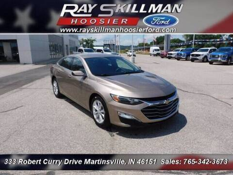 2019 Chevrolet Malibu for sale at Ray Skillman Hoosier Ford in Martinsville IN