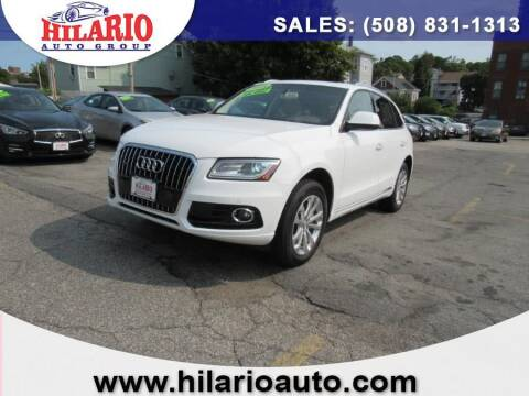 2015 Audi Q5 for sale at Hilario's Auto Sales in Worcester MA