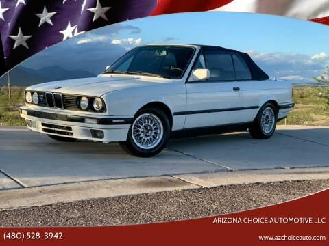 1992 BMW 3 Series for sale at Arizona Choice Automotive LLC in Mesa AZ