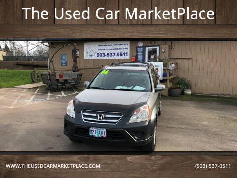 2006 Honda CR-V for sale at The Used Car MarketPlace in Newberg OR