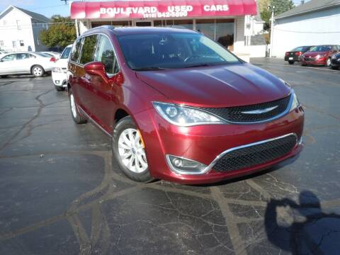 2018 Chrysler Pacifica for sale at Boulevard Used Cars in Grand Haven MI