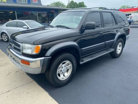 1998 Toyota 4Runner for sale at Wise Investments Auto Sales in Sellersburg IN