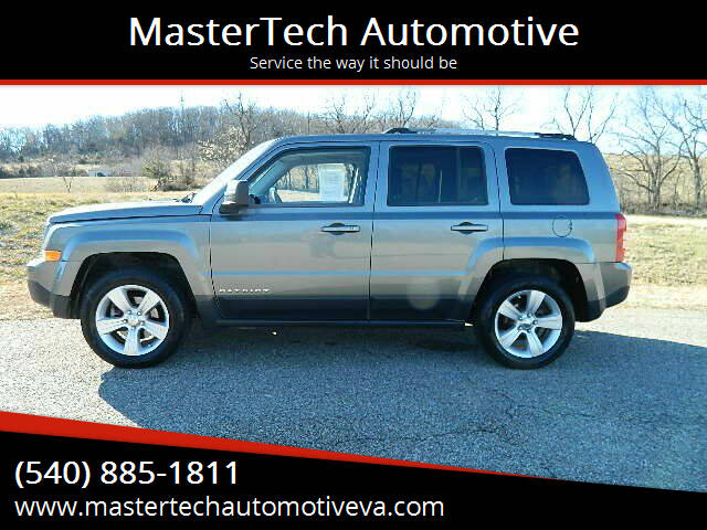 2012 Jeep Patriot for sale at MasterTech Automotive in Staunton VA