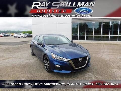 2020 Nissan Altima for sale at Ray Skillman Hoosier Ford in Martinsville IN