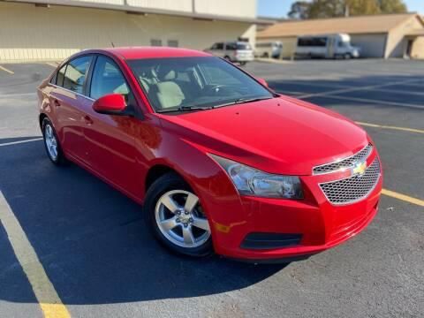 2014 Chevrolet Cruze for sale at D3 Auto Sales in Des Arc AR