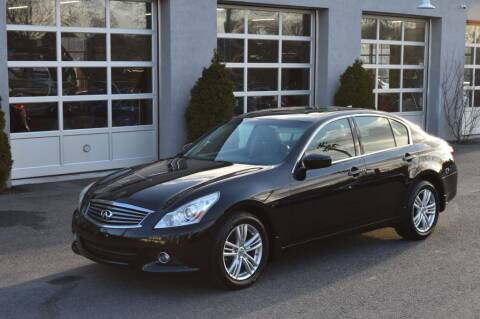2012 Infiniti G25 Sedan for sale at LARIN AUTO in Norwood MA
