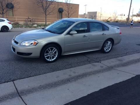 2012 Chevrolet Impala for sale at AROUND THE WORLD AUTO SALES in Denver CO