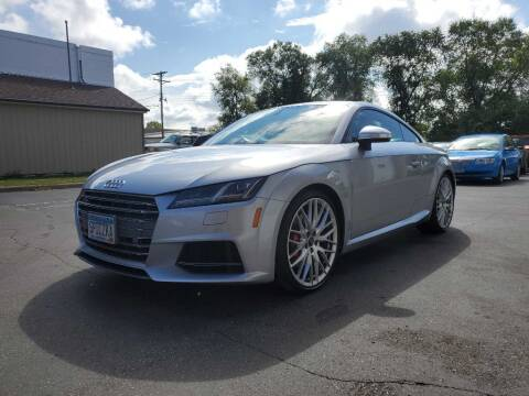 2016 Audi TTS for sale at MIDWEST CAR SEARCH in Fridley MN