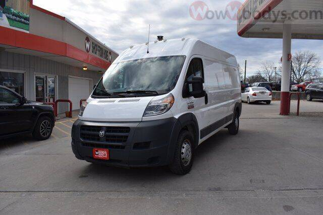 2017 RAM ProMaster Cargo 2500 159 WB 3dr High Roof Cargo Van - Chillicothe MO
