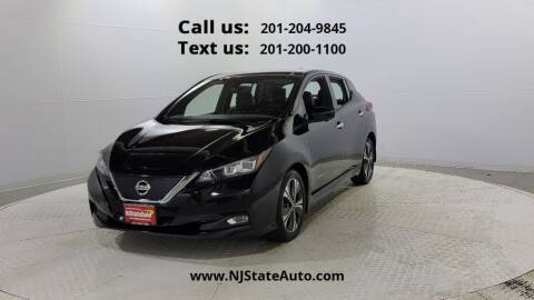 2018 Nissan LEAF for sale at NJ State Auto Used Cars in Jersey City NJ