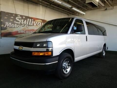 2019 Chevrolet Express Passenger for sale at SULLIVAN MOTOR COMPANY INC. in Mesa AZ