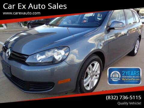 2010 Volkswagen Jetta for sale at Car Ex Auto Sales in Houston TX