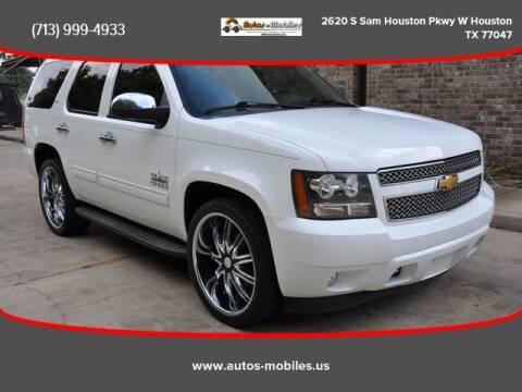 2013 Chevrolet Tahoe for sale at AUTOS-MOBILES in Houston TX