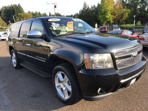 2007 Chevrolet Suburban for sale at Freeborn Motors in Lafayette, OR