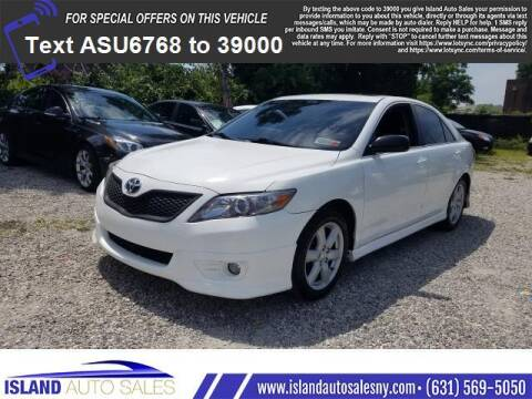 2011 Toyota Camry for sale at Island Auto Sales in E.Patchogue NY