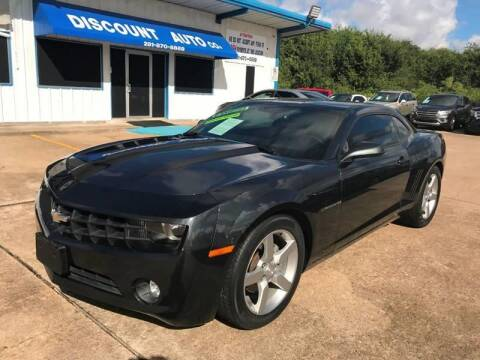 2012 Chevrolet Camaro for sale at Discount Auto Company in Houston TX