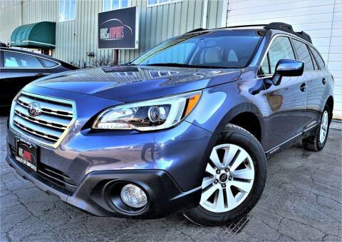 2015 Subaru Outback for sale at Haus of Imports in Lemont IL