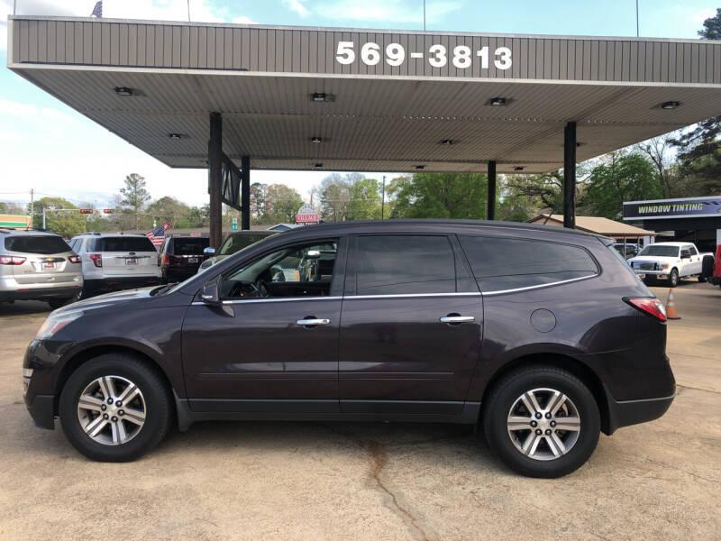 2015 Chevrolet Traverse for sale at BOB SMITH AUTO SALES in Mineola TX