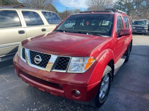 2006 Nissan Pathfinder for sale at Sartins Auto Sales in Dyersburg TN