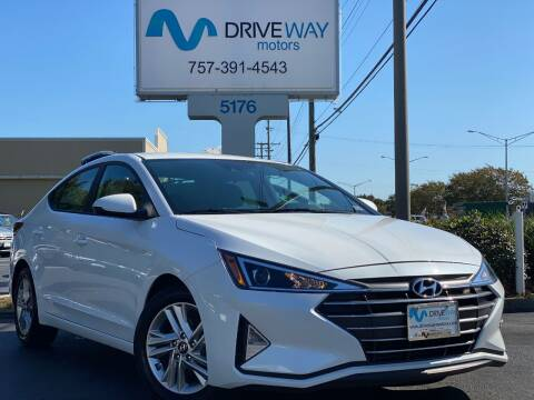 2019 Hyundai Elantra for sale at Driveway Motors in Virginia Beach VA