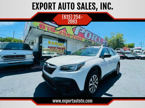 2020 Subaru Outback for sale at EXPORT AUTO SALES, INC. in Nashville TN