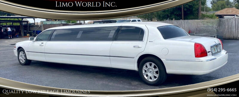 2008 Lincoln Town Car for sale at Limo World Inc. in Seminole FL