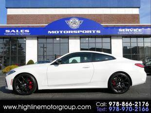2021 BMW 4 Series for sale at Highline Group Motorsports in Lowell MA