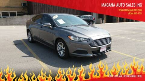 2013 Ford Fusion for sale at Magana Auto Sales Inc in Aurora IL