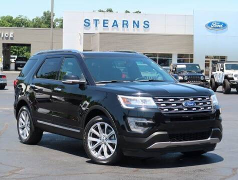 2017 Ford Explorer for sale at Stearns Ford in Burlington NC