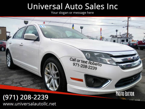 2011 Ford Fusion for sale at Universal Auto Sales Inc in Salem OR