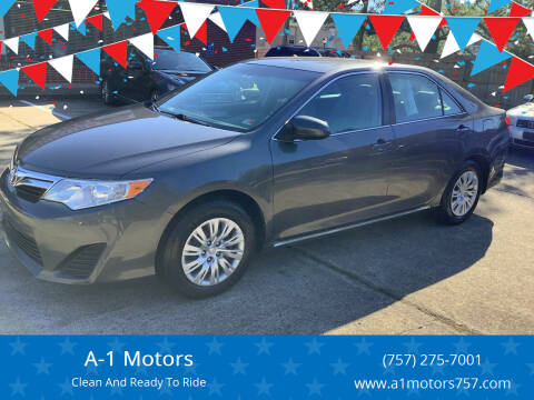 2014 Toyota Camry for sale at A-1 Motors in Virginia Beach VA