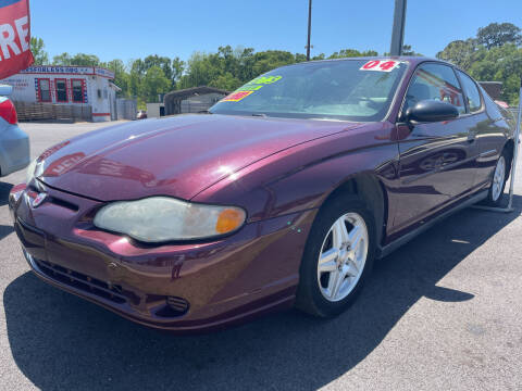 2004 Chevrolet Monte Carlo for sale at Cars for Less in Phenix City AL