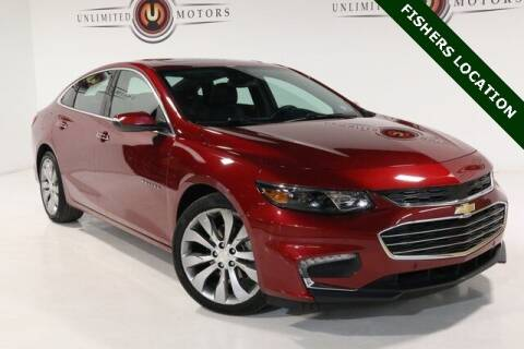 2017 Chevrolet Malibu for sale at Unlimited Motors in Fishers IN