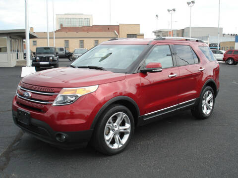 2015 Ford Explorer for sale at Shelton Motor Company in Hutchinson KS