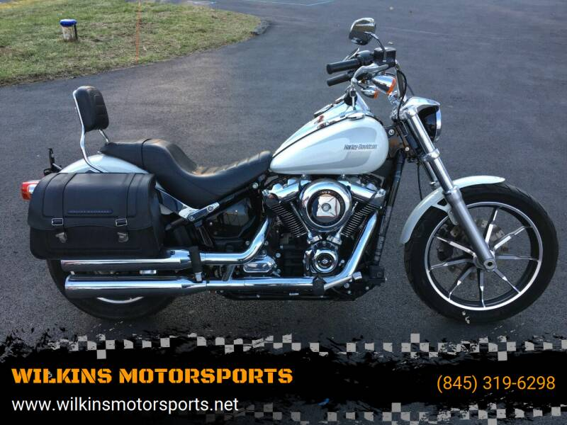 2018 Harley-Davidson Softail Low Rider for sale at WILKINS MOTORSPORTS in Brewster NY
