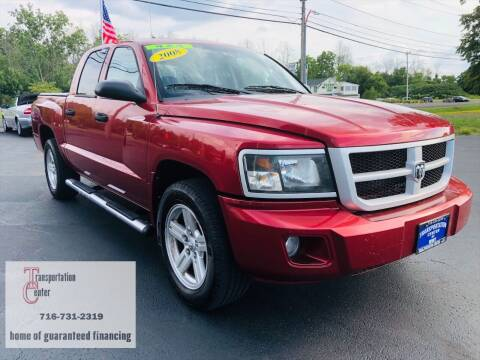 2008 Dodge Dakota for sale at Transportation Center Of Western New York in Niagara Falls NY