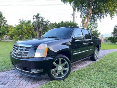 2009 Cadillac Escalade EXT for sale at Citywide Auto Group LLC in Pompano Beach FL