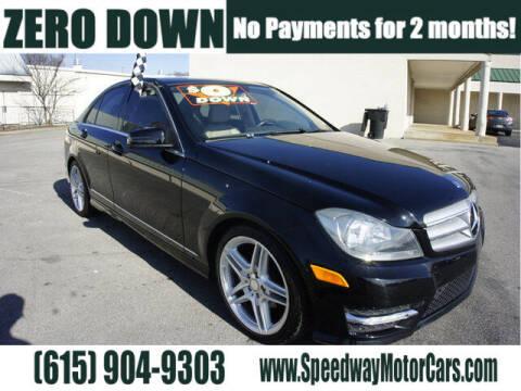 2012 Mercedes-Benz C-Class for sale at Speedway Motors in Murfreesboro TN