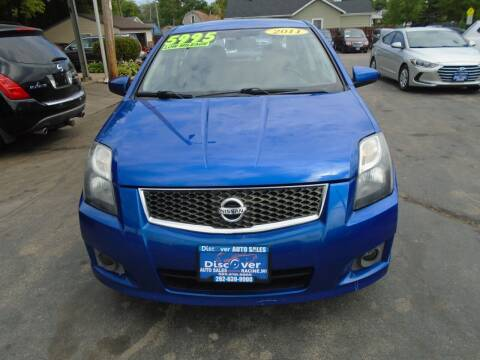 2011 Nissan Sentra for sale at DISCOVER AUTO SALES in Racine WI