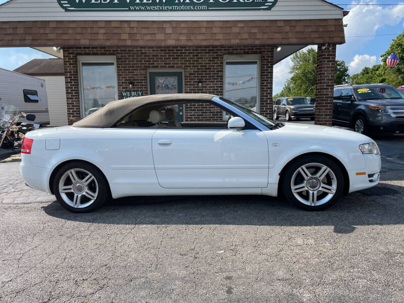 2007 Audi A4 for sale at Westview Motors in Hillsboro OH