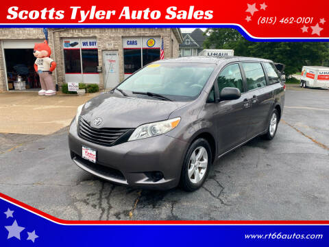 2011 Toyota Sienna for sale at Scotts Tyler Auto Sales in Wilmington IL