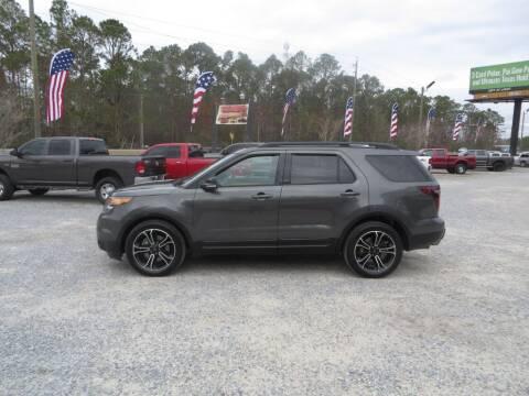 2015 Ford Explorer for sale at Ward's Motorsports in Pensacola FL