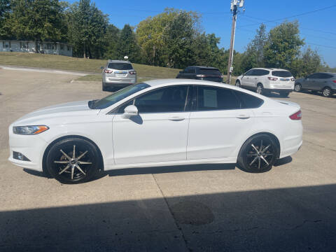 2015 Ford Fusion for sale at Truck and Auto Outlet in Excelsior Springs MO
