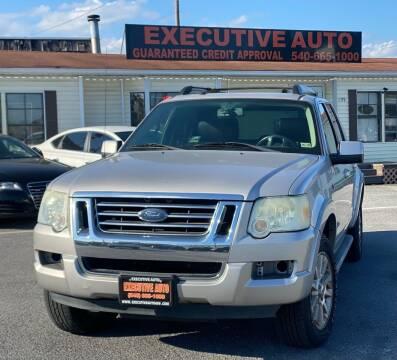 2007 Ford Explorer Sport Trac for sale at Executive Auto in Winchester VA