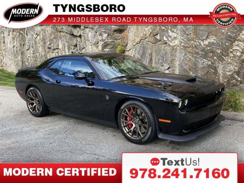 2016 Dodge Challenger for sale at Modern Auto Sales in Tyngsboro MA