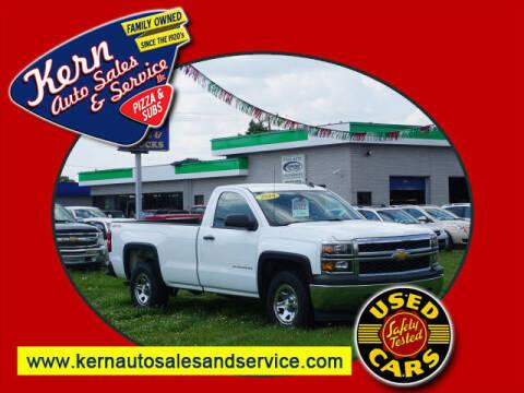 2014 Chevrolet Silverado 1500 for sale at Kern Auto Sales & Service LLC in Chelsea MI